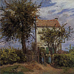 Camille Pissarro - The House in the Fields, Rueil. (1872)