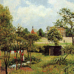 Camille Pissarro - View Across Stamford Brook Common. (1897)