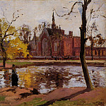 Camille Pissarro - Dulwich College, London. (1871)