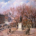 Camille Pissarro - The Pont-Neuf and the Statue of Henri IV. (1901)
