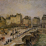 Camille Pissarro - The Pont-Neuf, Snow. (1902)