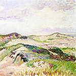 Camille Pissarro - The Dunes at Knokke. (1894)