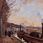 Camille Pissarro - The Seine at Port-Marly. (1872)