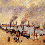 Camille Pissarro - The Port of Le Havre 2. (1903)
