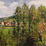 Camille Pissarro - Gizors, New Section. (1885)