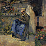 Camille Pissarro - Mother Jolly. (1874)