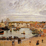 Camille Pissarro - The Port of Dieppe. (1902)