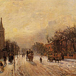 Camille Pissarro - All Saints Church, Upper Norwood. (1871)