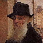 Camille Pissarro - Self Portrait. (1903)