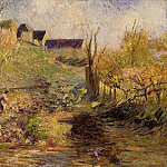 Camille Pissarro - Landscape at Osny. (1883)