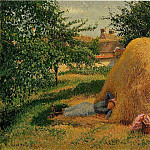 Camille Pissarro - The Siesta. (1899)