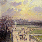 Camille Pissarro - The Bassin des Tuileries - Afternoon. (1900)