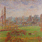 Camille Pissarro - Morning, Autumn. (Efagny,1892)