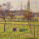 Camille Pissarro - Apple Trees in a Field. (1892)