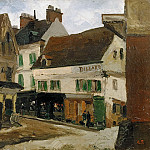 Gustav Graef - Square in La Roche-Guyon