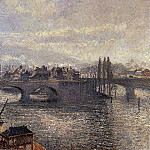 Camille Pissarro - The Pont Corneille , Rouen - Morning Effect. (1896)
