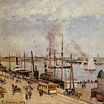 Camille Pissarro - The Port of Le Havre - High Tide. (1903)