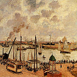 Camille Pissarro - The Port of Le Havre. (1903)