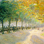 Camille Pissarro - Pissarro Hyde Park, London, 1890, soaked color on paper laid