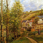 Camille Pissarro - View on Ermitage