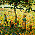 Camille Pissarro - Apple Pickers, Eragny. 1888