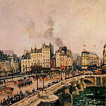 Camille Pissarro - The Pont-Neuf 2. (1902)