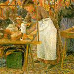 Camille Pissarro - The Pork Butcher, 1883, Tate Gallery, London.