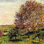 Camille Pissarro - Walnut Tree in Spring. (1894)
