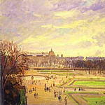 Camille Pissarro - The Tuileries Gardens 2. (1900)