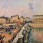 Camille Pissarro - The Pont-Neuf - Afternoon Sun. (1901)
