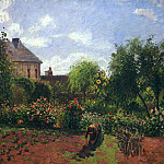 Camille Pissarro - Working in the Garden