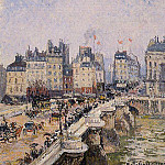 Camille Pissarro - The Pont-Neuf 2. (1901)