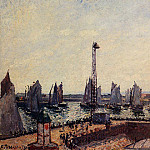 Camille Pissarro - The Inner Port and Pilots Jetty, Le Havre. (1903)