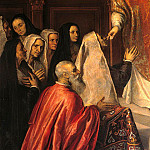 Palma il Giovane (Jacopo Negretti) - The Doge Pasquale Cicogna attends the Mass celebrated by Father Priamo Balbi, Pasquale Cicogna