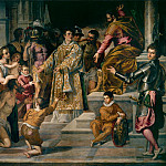 Palma il Giovane (Jacopo Negretti) - St Lawrence giving out alms