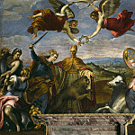 Palma il Giovane (Jacopo Negretti) - Allegory of the League of Cambrai