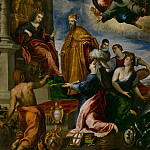 The Doge Francesco Venier presented to Venice, Palma il Giovane (Jacopo Negretti)