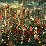 Palma il Giovane (Jacopo Negretti) - The Taking of Constantinople