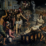 Palma il Giovane (Jacopo Negretti) - The Martyrdom of Saint Lawrence