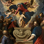 The Assumption of the Virgin , Palma il Giovane (Jacopo Negretti)