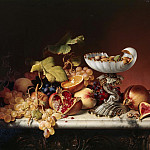Eugene Joseph Verboeckhoven - Still-Life with fruits