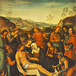 Pietro Perugino - The Mourning of the Dead Christ (Deposition), 1495,