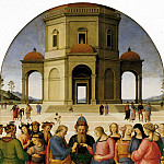 Pietro Perugino - The Betrothal of the Virgin