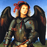 Pietro Perugino - The archangel Michael