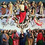 Pietro Perugino - The Ascension of Christ, 1495-98