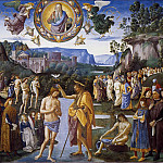 Pietro Perugino - Baptism of Christ