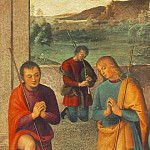 Pietro Perugino - The Presepio 1498 detail1
