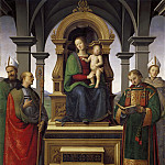 Antonio del Massaro da Viterbo - Altarpiece of the Decemviri