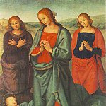 Pietro Perugino - Madonna with saints adoring the child, 1503, 87x72