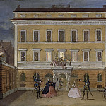Giovanni Francesco Romanelli - Monkeys Acting in front of the Governor's House, Stockholm